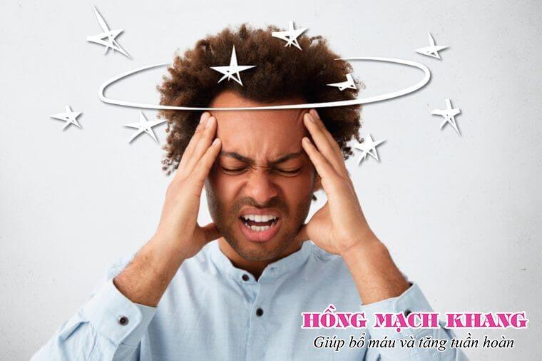 Hồng Mạch Khang giúp giảm triệu chứng hoa mắt, chóng mặt, rối loạn tiền đình hiệu quả